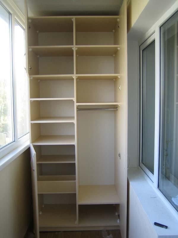 заказать шкафы для лоджий и балконов недорого встроенные шкафы на